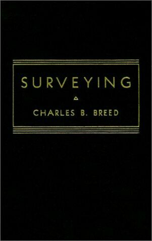 Surveying Hardcover Charles B. Breed