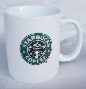 WOW! 2007 Starbucks Siren Mermaid Double Sided Classic Logo 8 oz Coffee Mug Cup