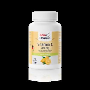 Vitamin-C-500-mg-90-Kapseln-Ascorbinsaeure-Immunsystems