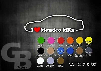 GB Design Autoaufkleber Audi A4 B6 I Love My Car 20CM !!!