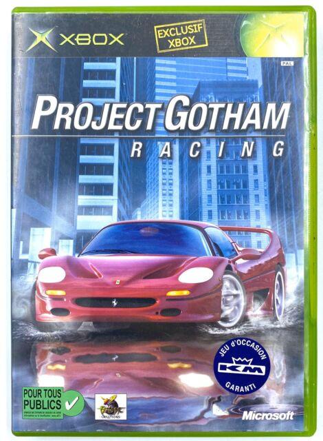 Project Gotham Racing - Jeu Xbox originale - Avec notice / TBE - PAL FR