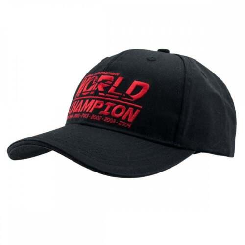 Michael Schumacher collezione TAPPO CAMPIONE DEL MONDO 2018 Nero Adulto