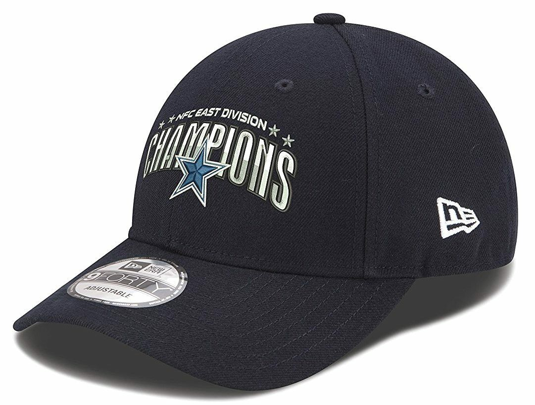 354c96f1 Dallas Cowboys Era 9forty NFL 2016 NFC East Division Champions Hat