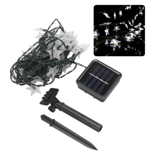 30 LED Ball Solar Party Fairy Outdoor String Lights for Patio /& Garden  Lamps