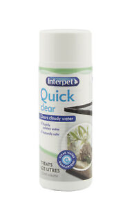 Interpet-Quick-Clear-Treatment-Aquarium-Water-Clarifier-Cloudy-Cleaner-125ml