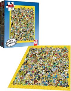 The-Simpsons-Cast-of-Thousands-Jigsaw-Puzzle-1000-Pieces