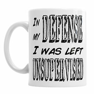 office coffee mugs. Image Is Loading In-My-Defense-I-Was-Left-Unsupervised-Novelty- Office Coffee Mugs