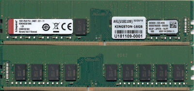 16GB Memory for Supermicro SuperServer 5019S-MR PARTS-QUICK Brand Super X11SSH-F DDR4 2400MHz ECC UDIMM