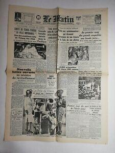 N795-La-Une-Du-Journal-Le-Matin-8-juin-1942-chute-de-tchou-tcheou-imprenable