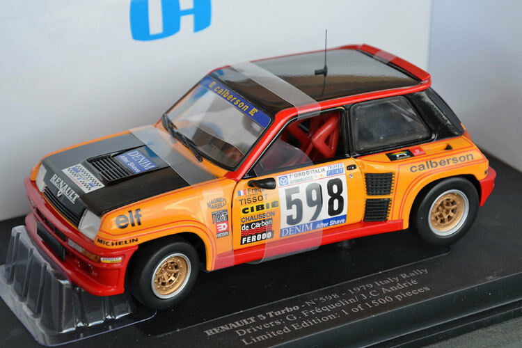 UH Renault 5  Turbo  598 Rally de Italia 1979 4552 Universal Hobbies 1 18
