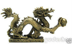 Drache Figuren Fengshui Drache Glücksbringer mächtiges Symbol
