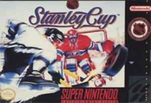 NHL-Stanley-Cup-Super-Nintendo-Game-SNES-Used