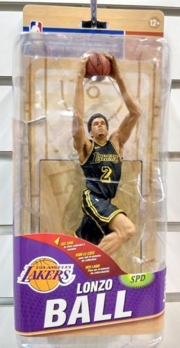 MCFARLANE NBA 32 LONZO BALL gold VARIANT LOS ANGELES LAKERS 303 333