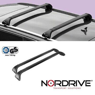 Aluminium für Mercedes GLC SUV Typ X253 NEU EBA Menabo Tiger Dachträger