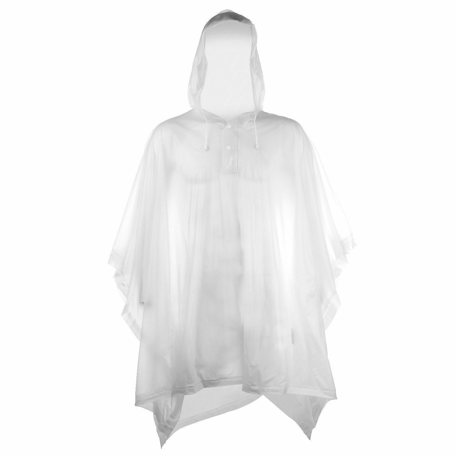 StayDry Deluxe PVC Impermeable Reutilizable Poncho De Lluvia-Alta Calidad Para Fiestas