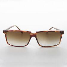 Rectangular Roy Orbison Flat Top Sunglasses True Vintage Tortoise- Roy