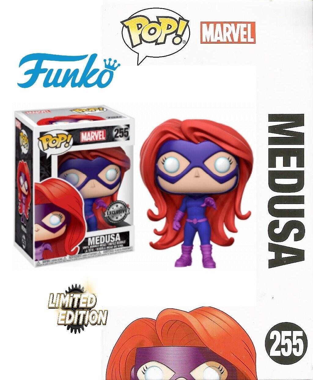 Funko Pop - Marvel - Medusa exclusive - Vinyl Bobble Head Figure NEW   orig.