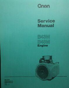 onan service manual b48m engine 46pg garden tractor 18 hp sears 18 HP Onan Coil la foto se est� cargando manual de servicio onan b48m motor 46pg tractor