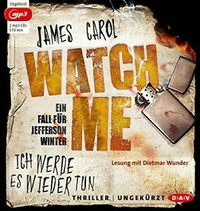 JAMES-CAROL-WATCH-ME-ICH-WERDE-ES-WIEDER-2-MP3-CD-NEW