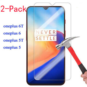 For-OnePlus-6T-6-5T-5-3T-3-Screen-Protector-9H-HD-Tempered-Glass-Film-Skin-Case