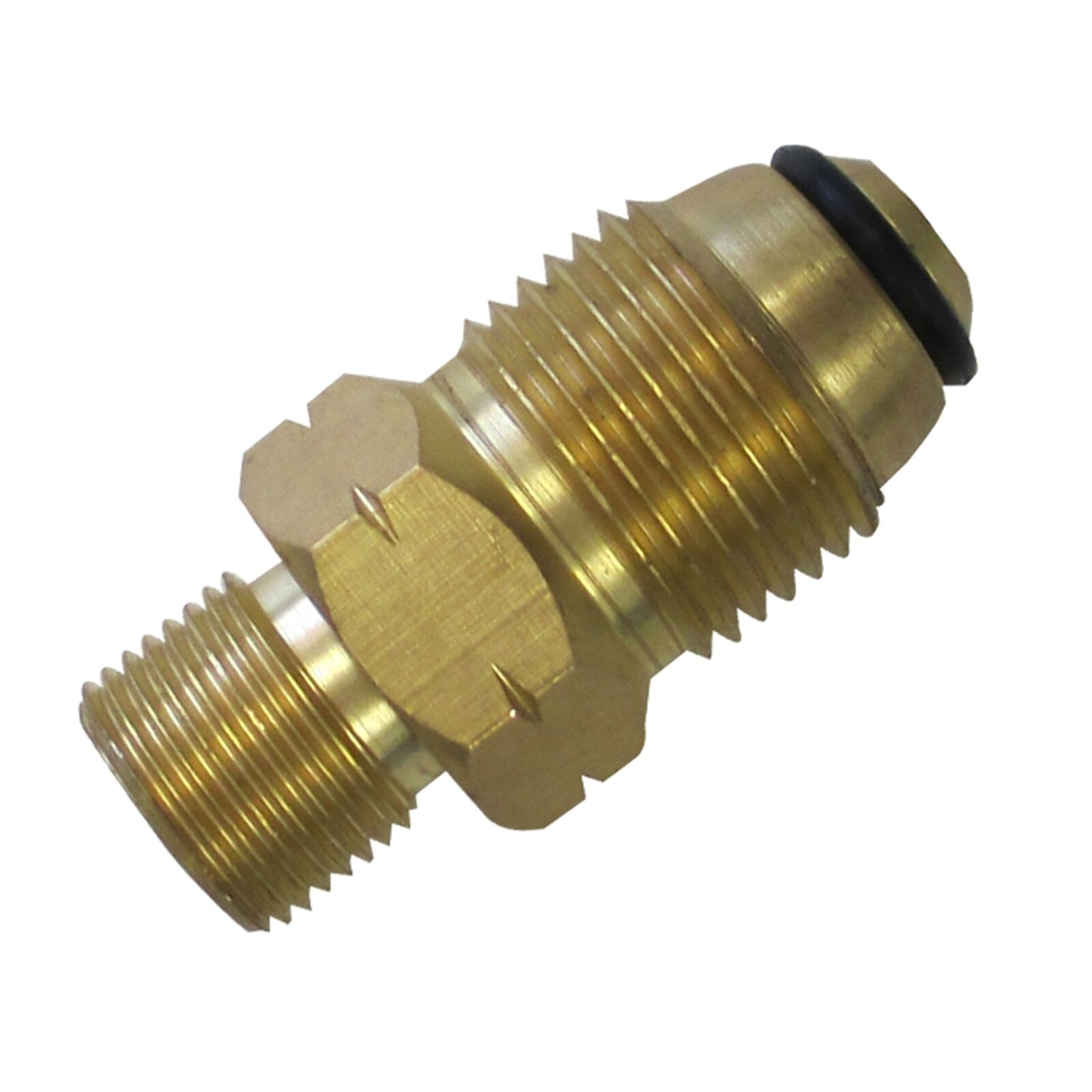 2x Gasmate BRASS STRAIGHT GAS ADAPTOR  Congreens POL To 3 8 Inch BSP-LHAust Brand  official quality