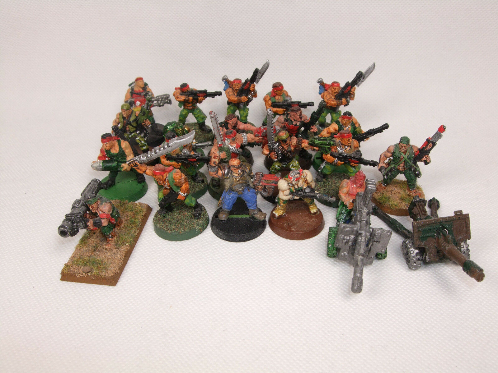 Astra Militarum   Imperial Guard Catachan Jungle Fighters Warhammer 40,000 40k
