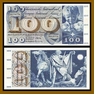Switzerland 100 Francs Swiss Gem UNC