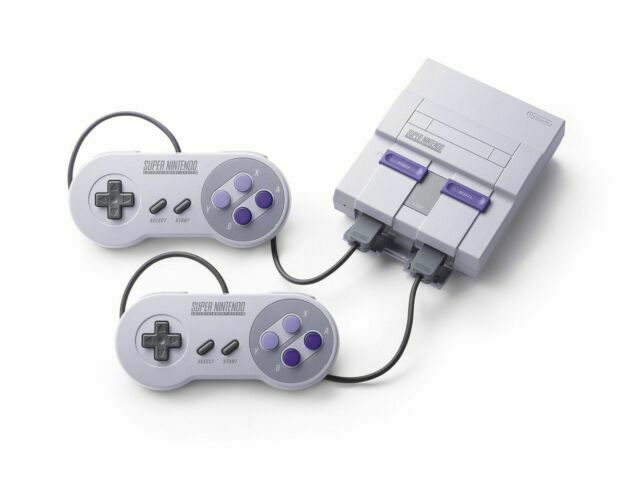 Super Nintendo Entertainment System Super Nes Classic Edition For Sale Online Ebay