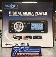 AQUATIC AV AQ-MP-5BT BLUETOOTH WATERPROOF MARINE AM/FM IPOD MP3 STEREO USB