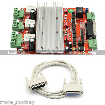 CNC TB6560 3 Axis Stepper Motor Driver Controller Board For Engraving Machine