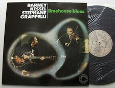 Barney KESSEL - Stephane GRAPPELLI Limehouse blues FRENCH LP BLACK LION - NMINT