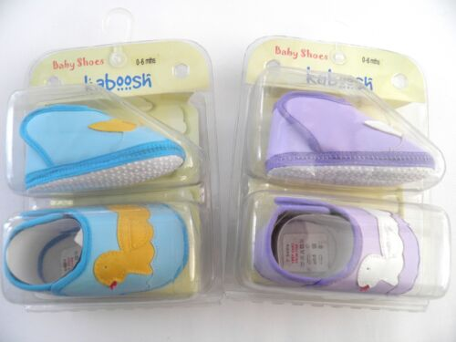 Baby Pram Shoes Cute Duck Design Choice of Colours Age 0-6 6-12 12-18 Months
