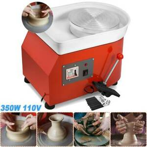 25CM-Pottery-Wheel-Ceramic-Machine-for-ceramic-work-Clay-Art-Craft-110V-NEW