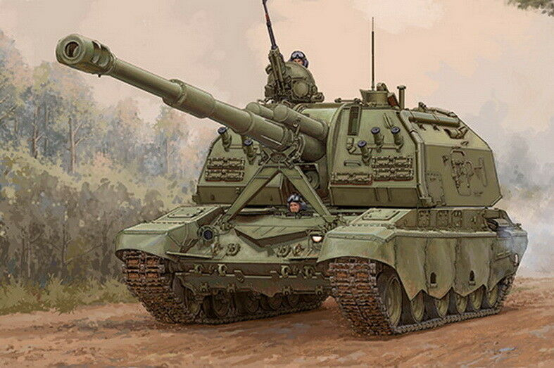 Trumpeter 1 35 2S19-M2 Self-propelled Howitzer