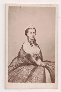 Vintage-CDV-Princess-Alexandra-of-Denmark-Queen-of-Great-Britain-Hermann-Ohm-Pho