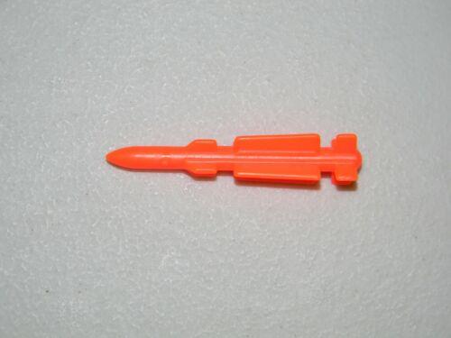 GI Joe 1987 Mobile Command Center MCC Small Missile Rocket vehicle part Hasbro