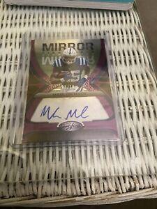 2021 NFL Certified Marlon Mack Mirror Signature Auto Purple 5/10!!!