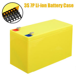 2x 18650 Li-ion Battery Case Holder Cell Batteries Storage Box Container Plastic