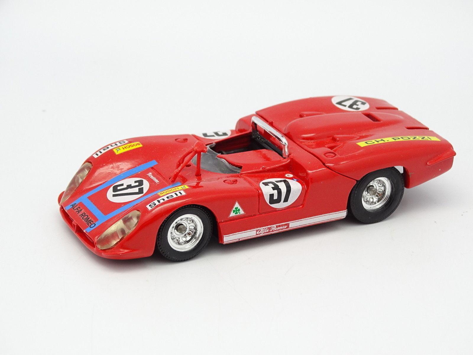 Solido SB SB SB 1 43 - Alfa Romeo 33 3 Le Mans No.37 Ref 187 bbde90