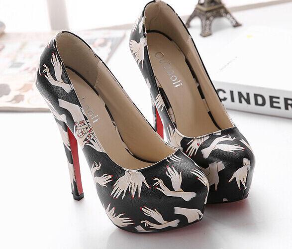 Décollte   decolte sandali donna 9206 tacco spillo plateau 14 disegni nero 9206 donna c3c376