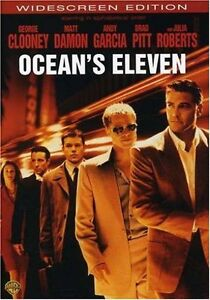 Brand-New-DVD-Ocean-039-s-Eleven-Widescreen-Edition-George-Clooney-Brad-Pitt