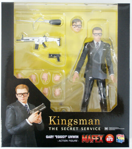 Medicom MAFEX 072 Kingsman Gary 'Eggsy' Unwin Action Figure