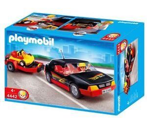 Voiture avec Kart - Playmobil City Life 4442 Nouveau