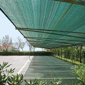 Rete frangivista ombreggiante al 90% verde per pergole gazebi e terrazze