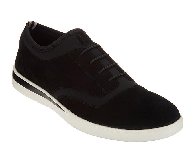 Edición Ellen DeGeneres Gamuza Bungee Zapatillas Tenis Zapatos-Atala Negro para Mujer 10