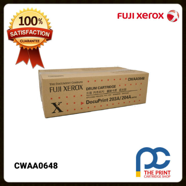 New & Original Fuji Xerox CWAA0648 Black Drum Unit DP203a DP204a 203a 204a 12K