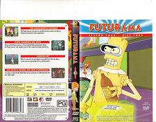 Futurama-1999/2013-TV Series USA-Season Four:Disc Four:4 Episodes-DVD