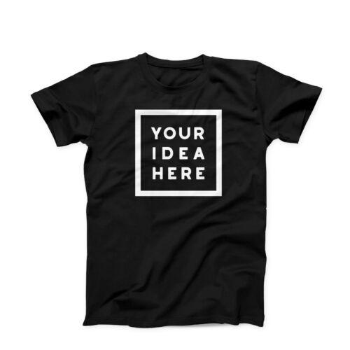 Personalised T-Shirt Custom Printed Gildan For Children Birthday Party Tee 2020