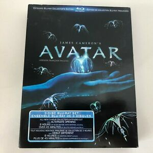 Avatar-Blu-ray-Disc-2010-3-Disc-Set-Canadian-Extended-Collectors-Edition