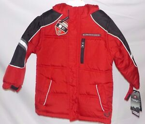 abaf5eaad NEW NWT Size 2-3 Toddler Boys Winter Coat Protection System Red ...